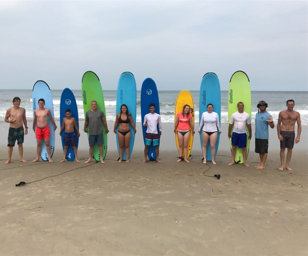 Outer Banks Surf Camps