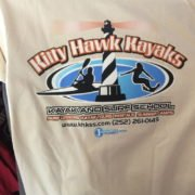 Outer Banks Kayak Surf Lesson Tshirt