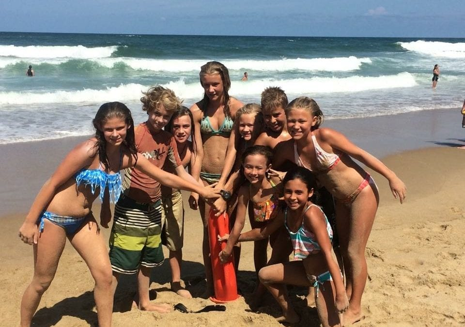 Junior Lifeguard Camps on the Outer Banks of North Carolina