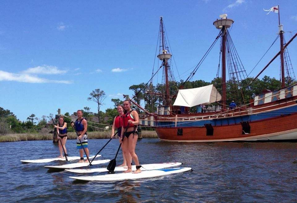 Roanoke Island Stand Up Paddle Tour