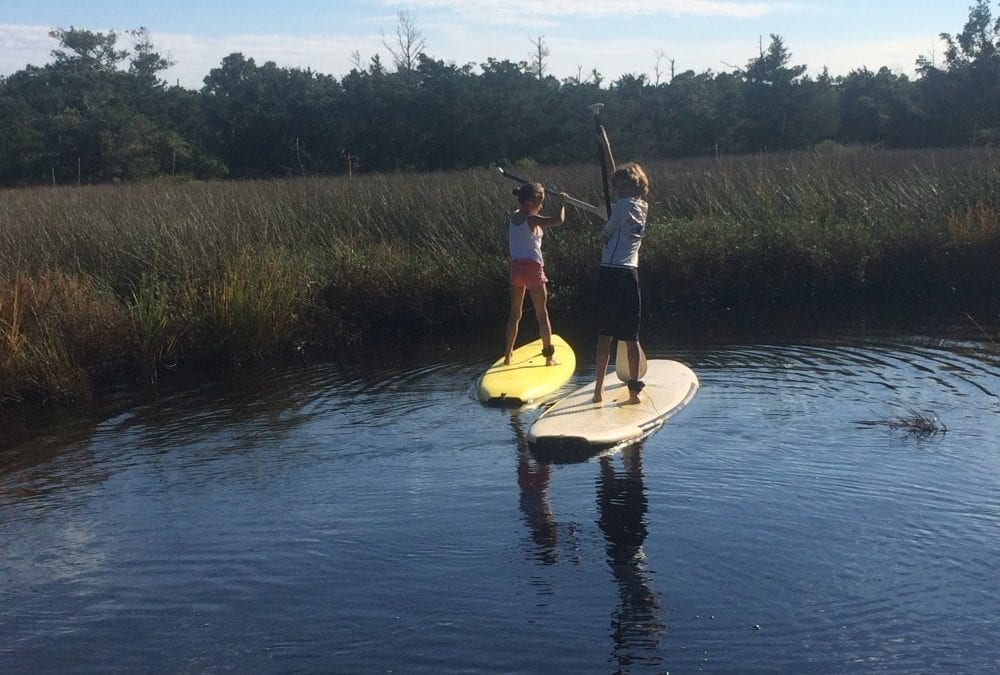 Outer Banks Kids SUP Lessons