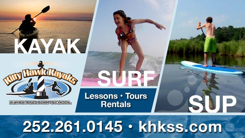 Outer Banks Wedding Party Activities Kayaking Surfing Suping Yoga