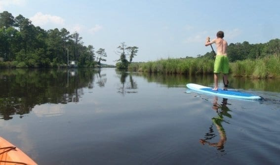 Stand Up Paddleboarding SUP OBX