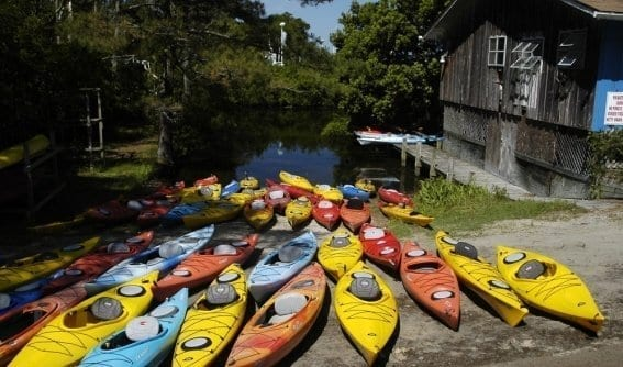 Outer Banks Kayak Rentals On Site Or Delivered Fast To Your