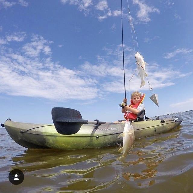 Outer Banks Kayak Fishing