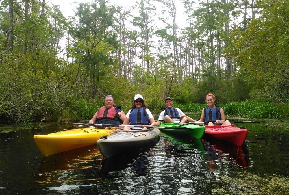 Large Group Adventure Activities on the Outer Banks of North Carolina