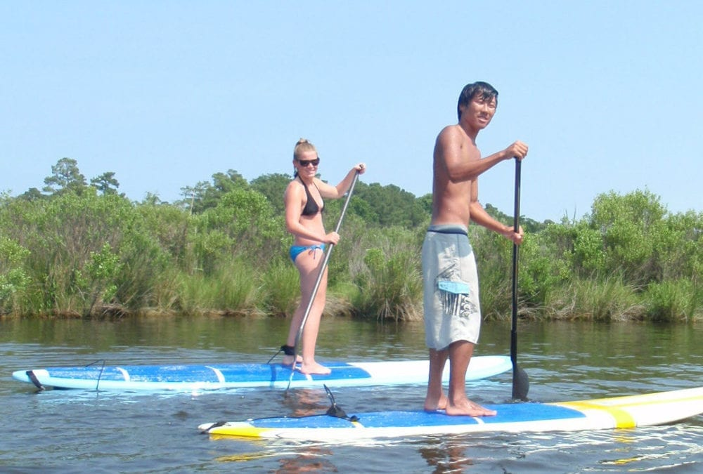 Kitty Hawk Stand Up Paddle Tour